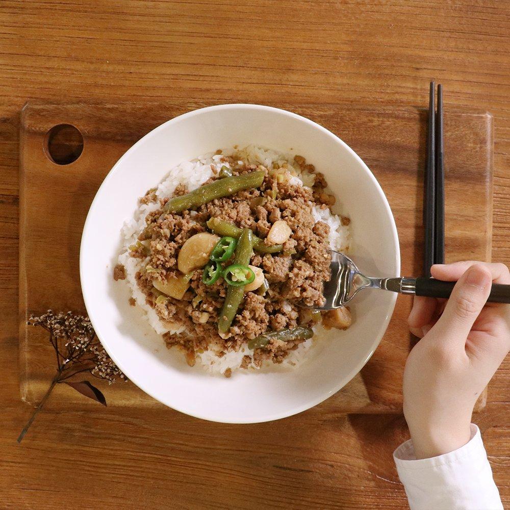 밀본x고기덮밥