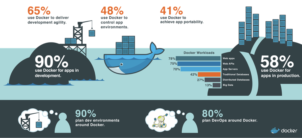 The Evolution of the Modern Software Supply Chain - The Docker Survey, 2016